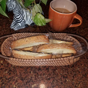 How about a biscotti?